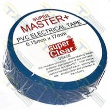 Изолента Super Master+ 25 м, синяя