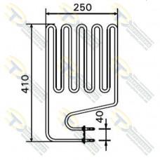 ТЭН 2,0 кВт для сауны Harvia изогнутый (5 волн) Кварц ZSS-120