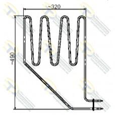 ТЭН SEPC 11 (2000 Вт) для сауны (электрокаменки) SKLA/MAGMA 260 Кварц